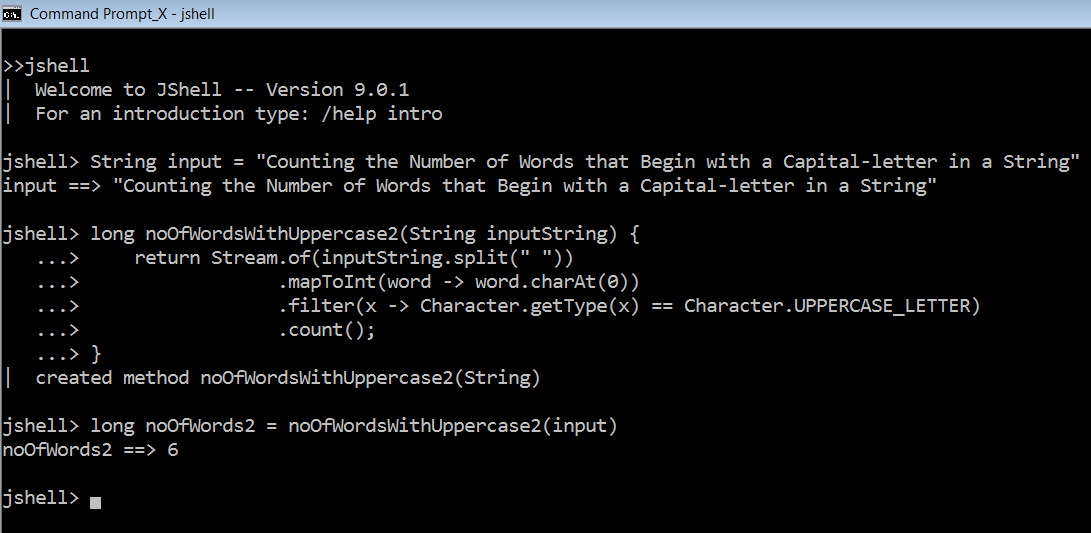 An Example of Java 8's Functional Style Programming