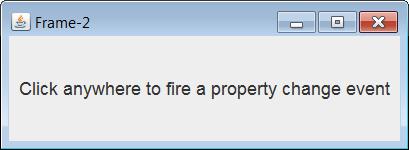Java Propertychangelistener As An Observer